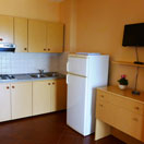 Apartments - Kitchenette (one bedroom and two bedroom apartment)