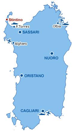 Sardegna Cartina Aeroporti.La Pelosetta Residence Hotel Stintino Sardegna Dove Siamo